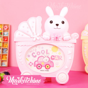 Photo Frame-Bunny-Pink-1