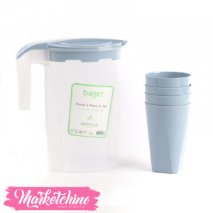 Clover Water Set-Light Blue( 5 pieces )