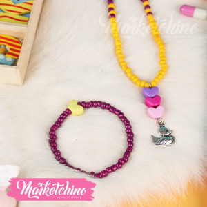 Set Of 2-Purple&Yellow-For Kids
