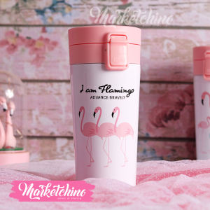 Thermal Mug-Flamingo-4