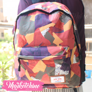 Backpack-Wen Ding-Orange&Olive (original)
