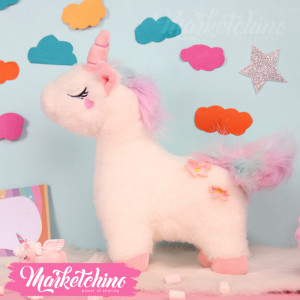 Toy-Unicorån White-1