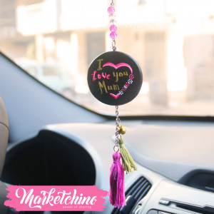 Car Charm-I Love Mum