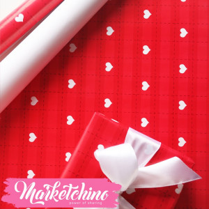 Paper Gift wrapping-Heart 3
