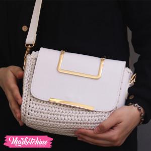 Cross Bag-White