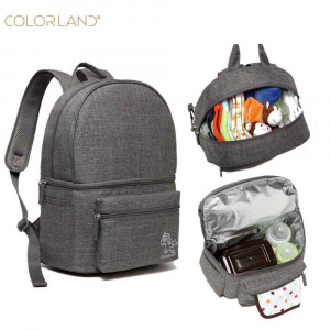 ColorLand-Backpack Baby-Gray