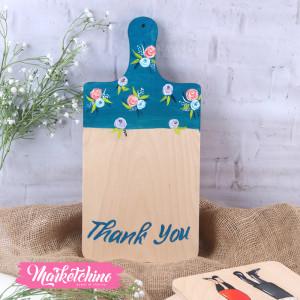 Tableau-Cutting Board-Flower