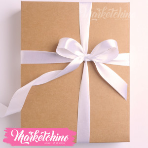 Ribbon-Gift Box-White