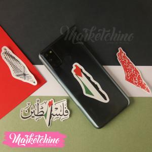 sticker-LapTop-Palestine (set of 4 )