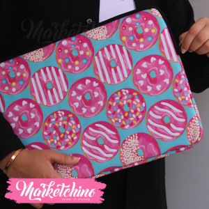 Laptop Sleeve-Donuts-15.6 Inch