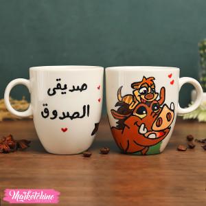 Oxford Porcelain Mug-Don't Let