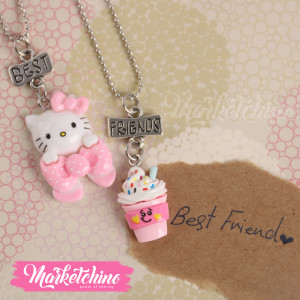 Necklace-Kitty (Set Of  2 )