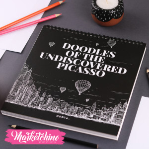 Sketch Book-Undiscovered Picasso