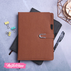 Note Book-Brown