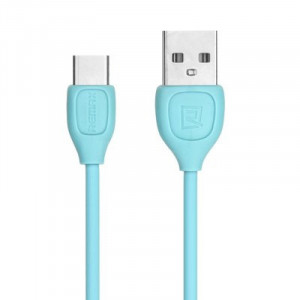 Remax-LESU CABLE DATA (RC 050 a) (USB Cable type C) Blue