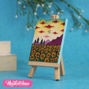Mini Tableau-Sun Flower