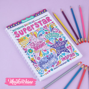 Colouring Book-Supper Star  2