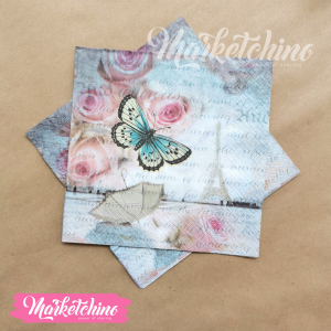 Tissue for Decoupage-Butterfly