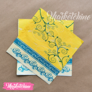 Tissue for Decoupage-Yellow