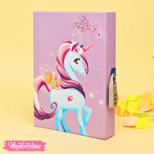 keychain-Unicorn-Pink