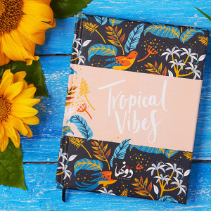 Notebook-Black Tropical