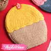 Pot Holders-Crochet-Yellow&Beige