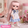 Doll-Blue Dress (17 cm)