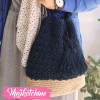 Cross Bag Crochet-Dark Blue