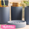 Bathroom-Set Of 4 (Blue)2