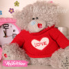 Toy Teddy Bear Gray