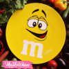 Ceramic Service Plate-M&M'S-Yellow (Large )