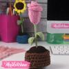 Flower Pot-Crochet