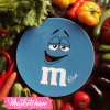 Ceramic Service Plate-M&M'S-Blue(Small)