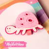 Paper Clip-Turtle-Pink