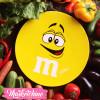 Ceramic Service Plate-M&M'S-Yellow (Small)