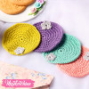 Crochet Coaster-Set Of 4