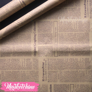 Gift wrapping Paper-News Paper