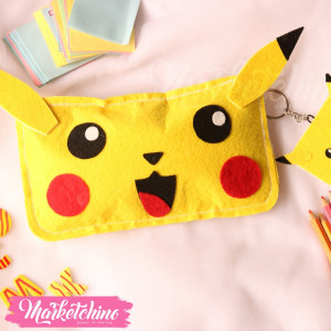 pencil case-pikachu