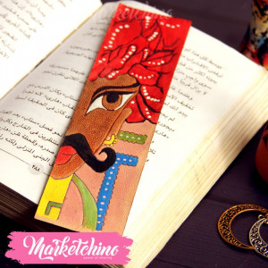 Leather Bookmark-1