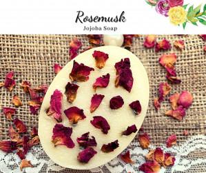 Hand Made Soap-RoseMusk