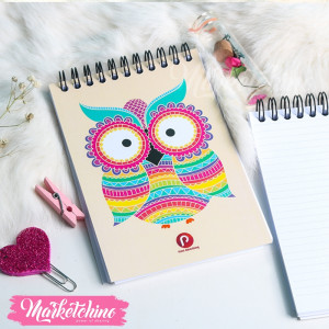 Notebook-Owl-Yellow