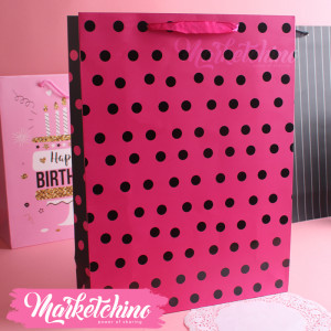 Gift Bag-Fuchsia