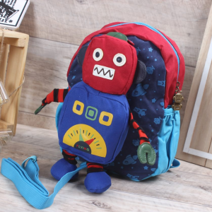 Kids Bag-Robot-Red