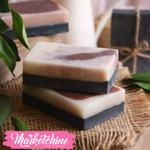 Hand Made Soap-Rosy Charcoal