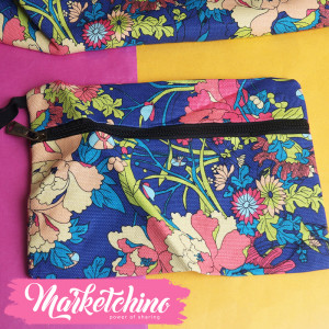 Sport Bag-flower-colorful 2