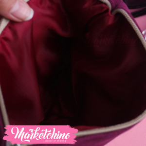 Make Up Bag-Maroon