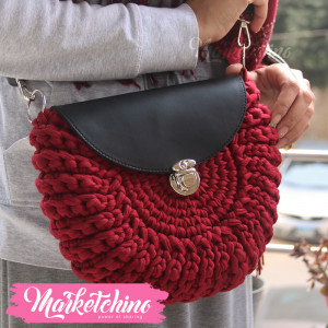 Cross Bag-Maroon