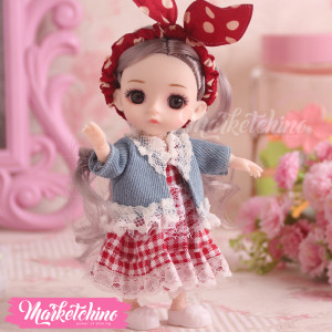 Doll-Red Dress (17 cm)