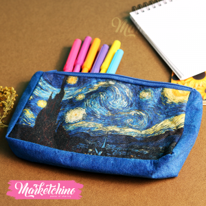 Pencil Case-Starry Night