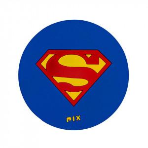 Silicon Coaster-Super Man